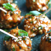 Hoisin-Glazed Turkey Meatballs