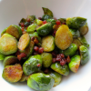 Pan-braised Brussels Sprouts with Crispy Pancetta