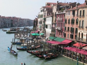 Venice and the infamous boats
