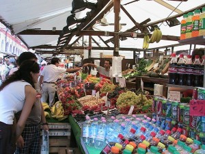 Venice open-air market