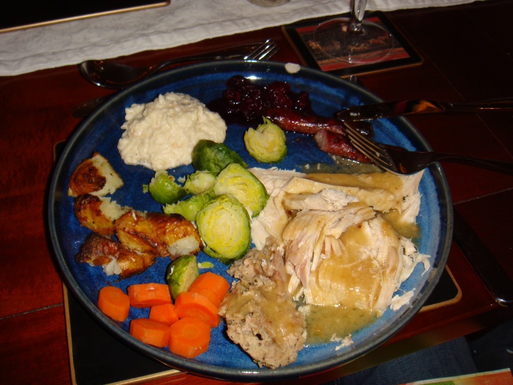 A Traditional Christmas Dinner British Style Boston