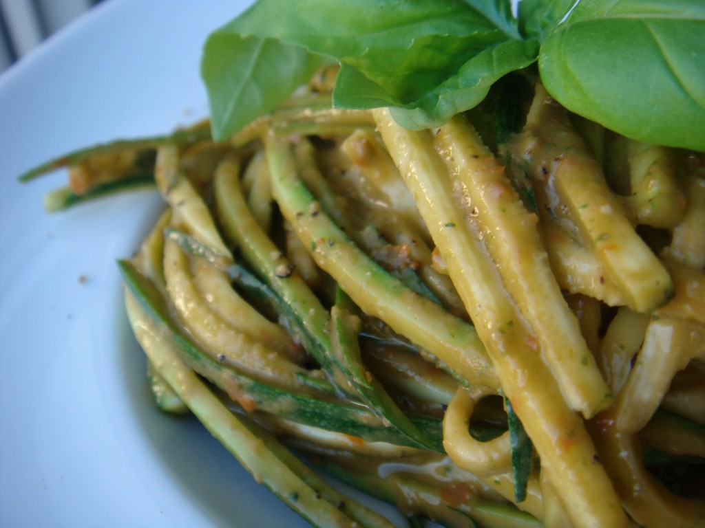 Zucchini Noodles With Arrabiata Chickpea Sauce Recipes — Dishmaps