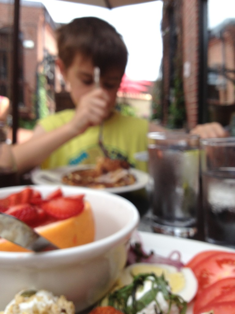 IMG 37491 768x1024 Speaking of Al Fresco Brunch... Sophias Grotto in Roslindale ROCKS IT!
