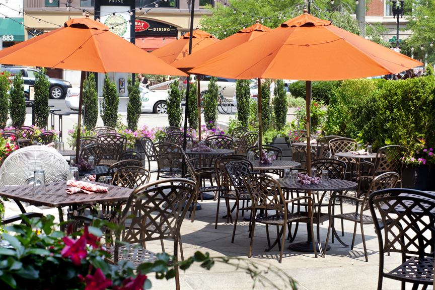 towne patio A tour through some of Bostons best al fresco brunch offerings...