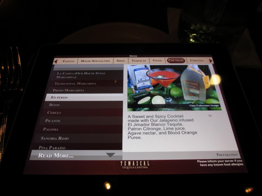 iPad Menu