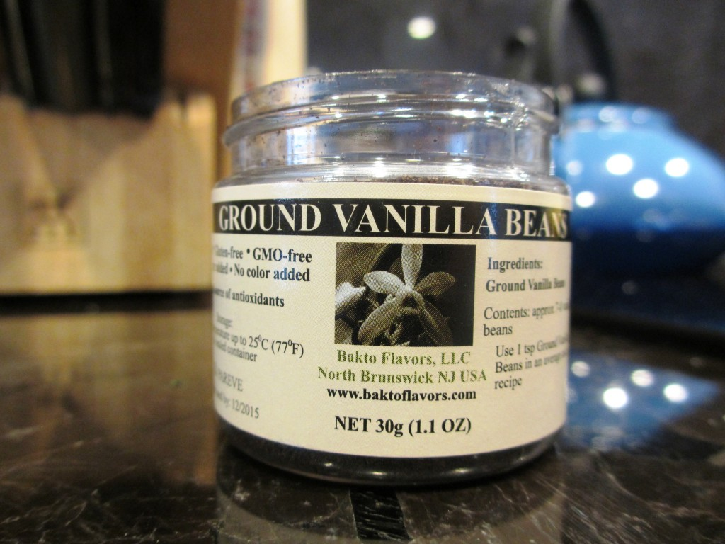I love that this vanilla is from NJ (where I grew up) and GMO free!