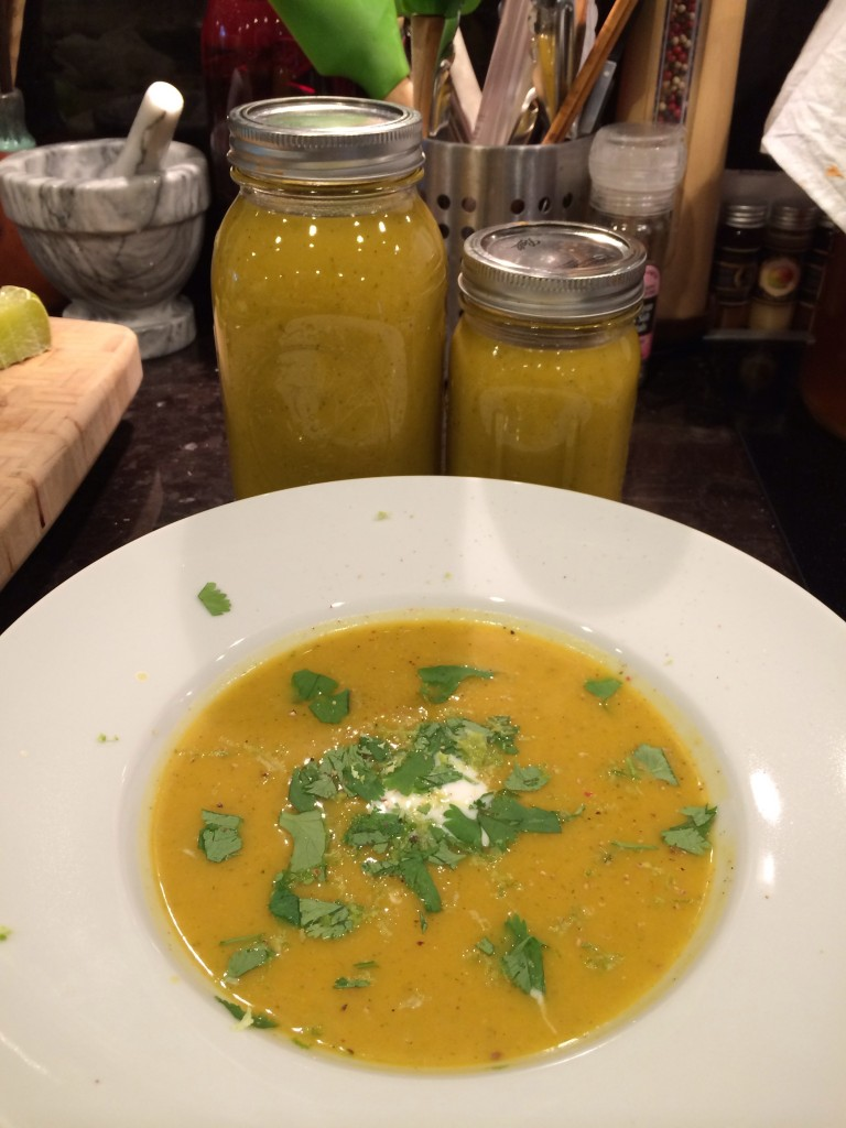 Paleo Thai-inspired Coconut Pumpkin Soup