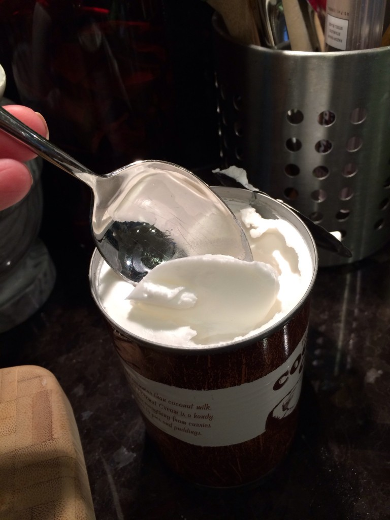 Consistency of Trader Joe's Coconut Cream