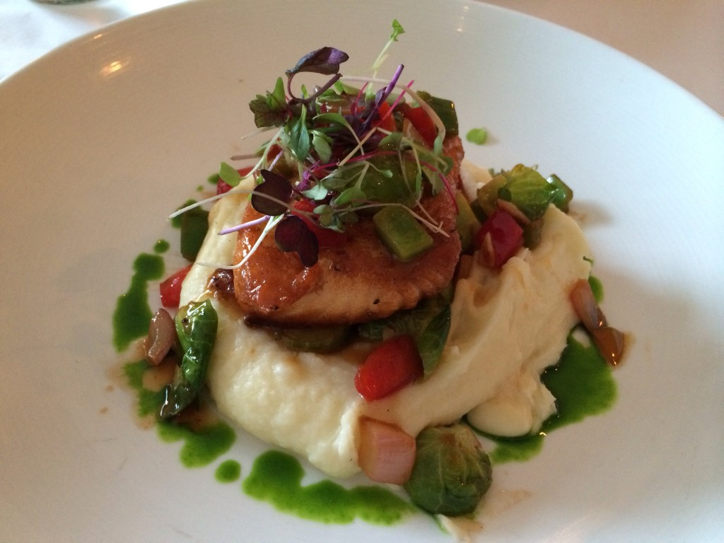 Pan Seared Salmon from The Farmhouse in Dedham