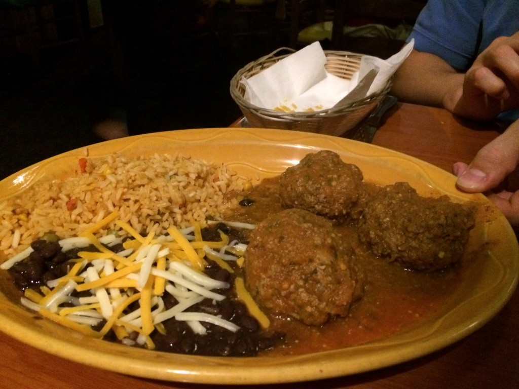 Jalapeno's Grill Albóndigas Chipotle