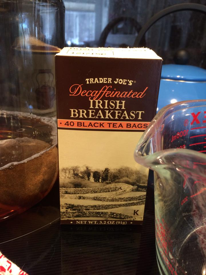 Trader Joe's Decaf Irish Breakfast Tea